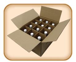 1 Liter (33.82 fl oz) 12 Bottles Dark Mexican Vanilla (Free Shipping)