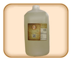1 Gallon (4 Liter) Clear Mexican Vanilla (Free Shipping)